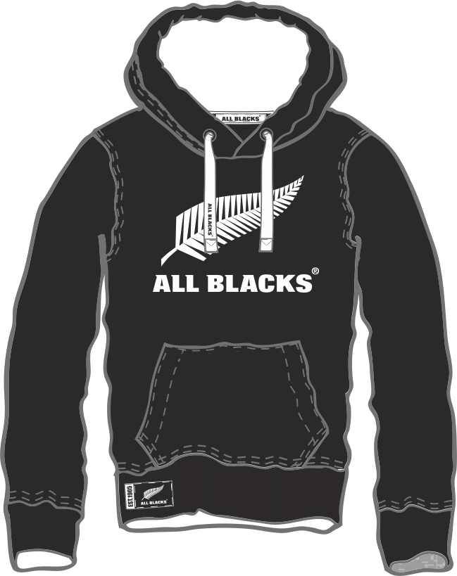 Mikina s kapucí | All Blacks