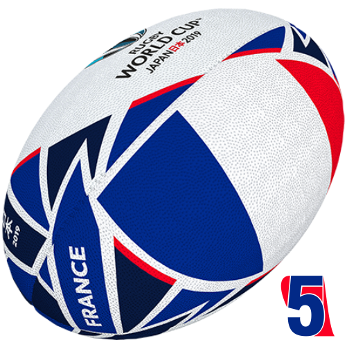 RWC 2019 OFFICIAL FLAG BALL |  France | Velikost 5