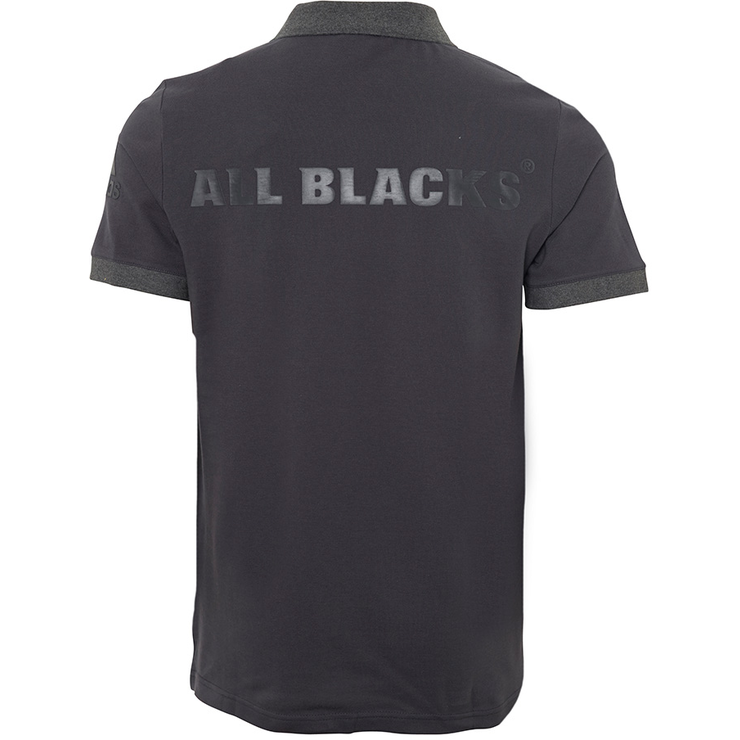 Adidas polokošile | All Blacks šedá