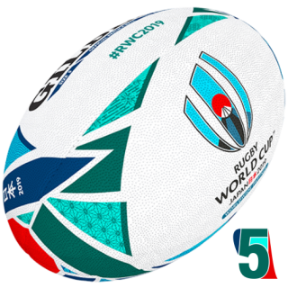 RWC 2019 OFFICIAL REPLICA BALL | Velikost 5