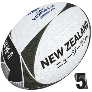 RWC 2019 OFFICIAL SUPPORTER BALL |  New Zeland | Velikost 5