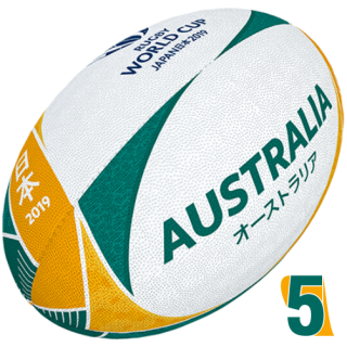 RWC 2019 OFFICIAL SUPPORTER BALL |  Australia | Velikost 5