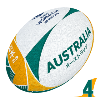 RWC 2019 OFFICIAL SUPPORTER BALL |  Australia | Velikost 4