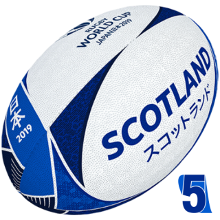 RWC 2019 OFFICIAL SUPPORTER BALL | Scotland | Velikost 5