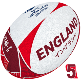 RWC 2019 OFFICIAL SUPPORTER BALL | England | Velikost 5