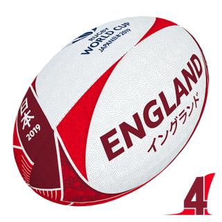 RWC 2019 OFFICIAL SUPPORTER BALL | England | Velikost 4