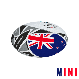 RWC 2019 FLAG BALL |  New Zeland | MINI