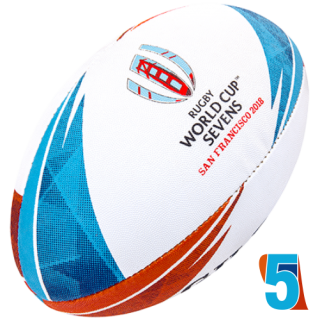 RWC 2018 7's OFFICIAL REPLICA BALL | Velikost 5
