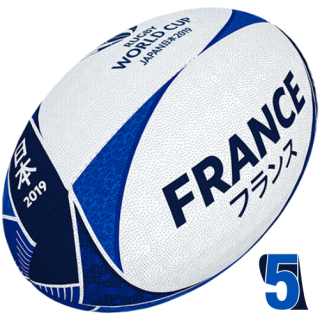 RWC 2019 OFFICIAL SUPPORTER BALL |  France | Velikost 5