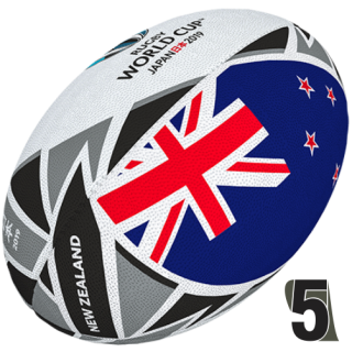 RWC 2019 OFFICIAL FLAG |  New Zeland | Velikost 5