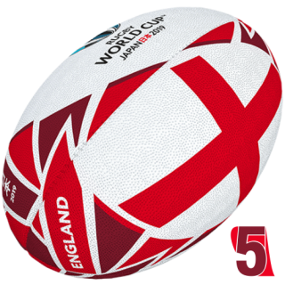 RWC 2019 OFFICIAL FLAG BALL | England | Velikost 5